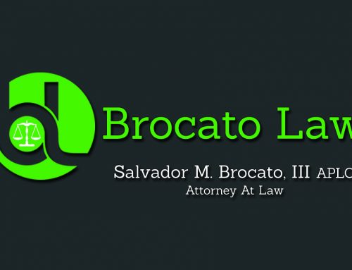 Business Card Design For A New Orleans Louisiana Lawyer Sal Brocato A DWI/DUI Attorney