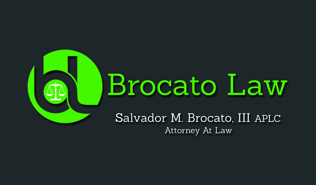 Business Card Design For A New Orleans Louisiana Lawyer Sal ...