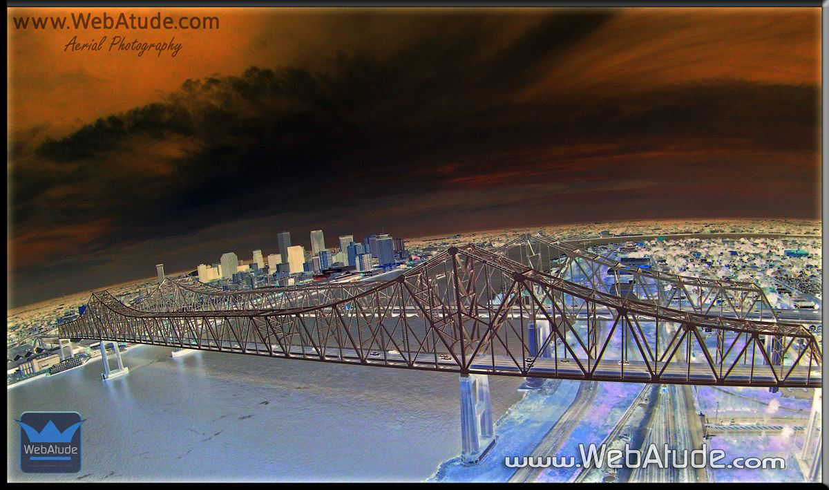 Aerial Photography Pros in New Orleans Louisiana with WebAtude